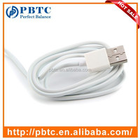 Wholesale Cheap 1 Meter Standard White Data Sync USB Cable For Apple