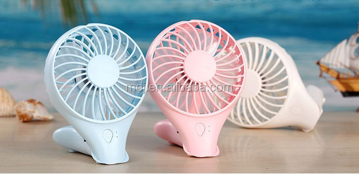 Summer rotary type outdoor charging mini fan