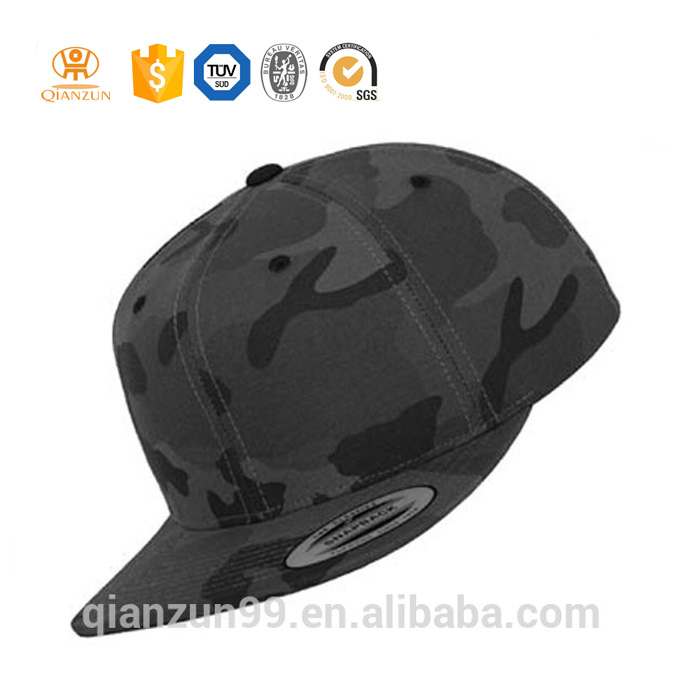 custom wholesale military cap blank camo snapback hats