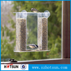 Wholesale out of the window mount pet feeder acrylic bird feeder with suction cup
