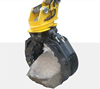 360 Degree Rotating Grapple Rock Grapple Stone Grapple for Excavator