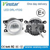 For widely car used VW Tiguan auto lighting led drl Emark E4 R87 fog lamp