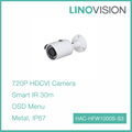 1MP Fixed Lens 30m IR Bullet Camera