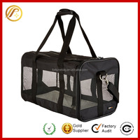 Deluxe Airline Approved Airport Pet Carrier Travel Bag-Under Seat Carry-on for Cats and Dogs