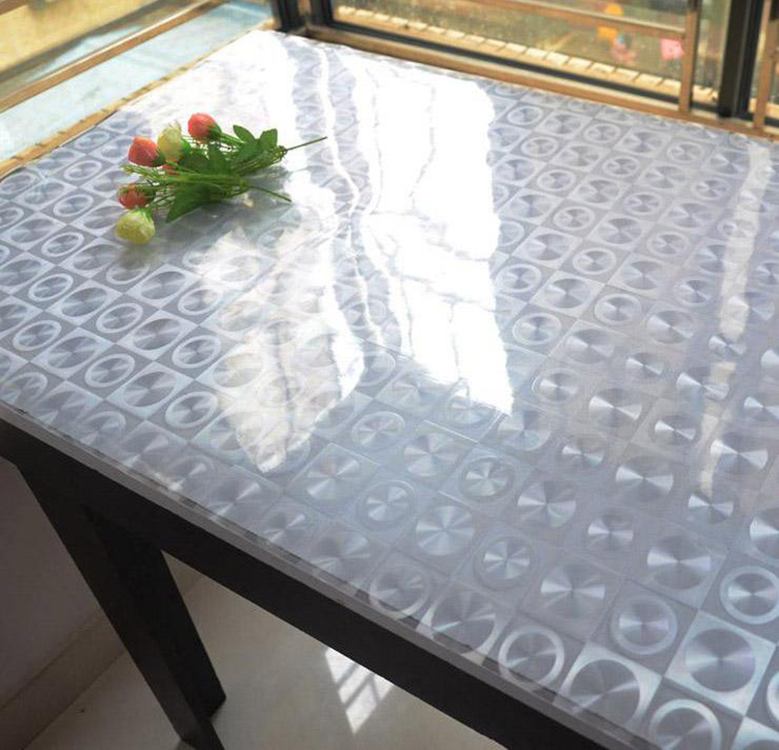 NG-PC fashionable transparent rigid super clear protection printed wrapping flexible plastic furniture decorative pvc film