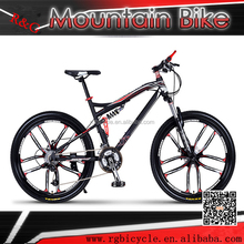 26 size ten spoke soft tail downhill frame dual suapension mountain bike/bicycle