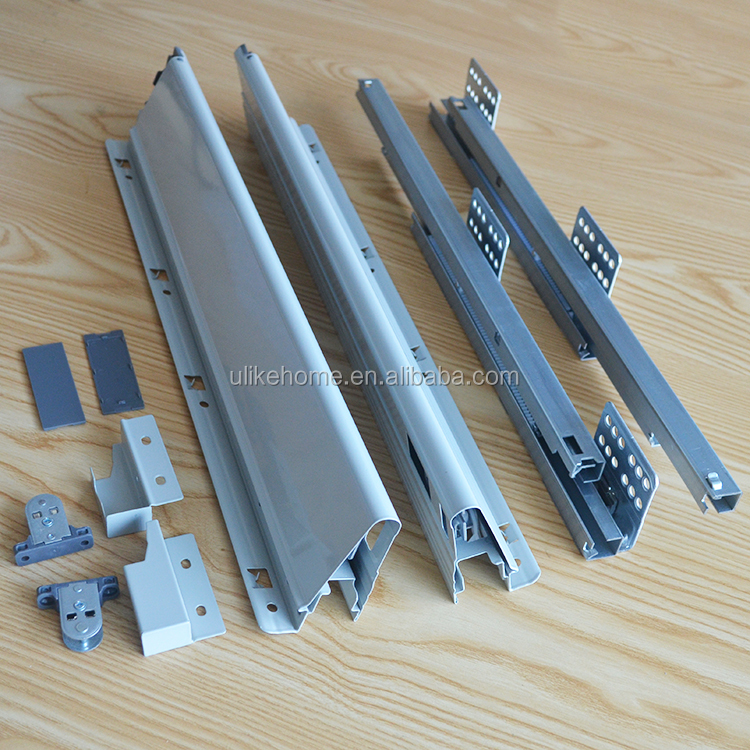 Kitchen cabinet drawer slide tandembox drawer slide soft closing drawer slide
