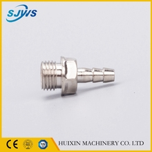 OEM Precision machining pneumatic component brass fittings