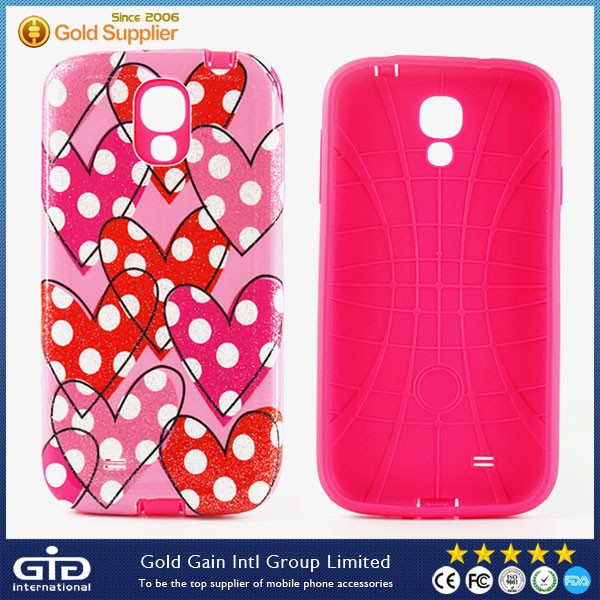 2 in 1 Case For Samsung for Galaxy S4 I9500