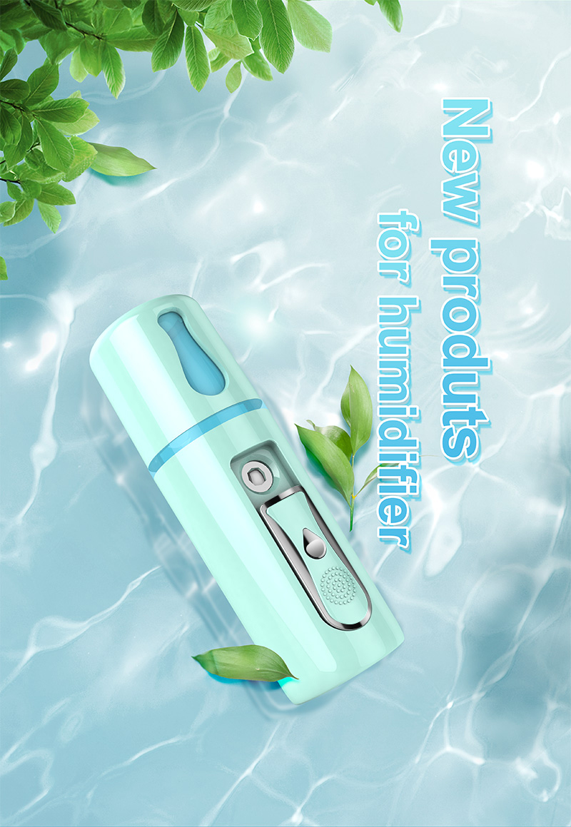 New Portable USB Charging Mini Ultrasonic Nano Humidifier With Cold Mist For Face