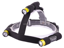 High Quality Nylon Headlamp Band strap,3 Adjustable Point Mini Flashlights fix strap for headlamp
