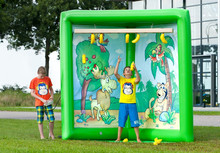 INFLATABLE CATCH THE BOUNCY PAIO, inflatable banana catching game