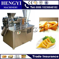 2016 mini capacity 4800pieces/h 304 stainless steel small automatic samosa making machine