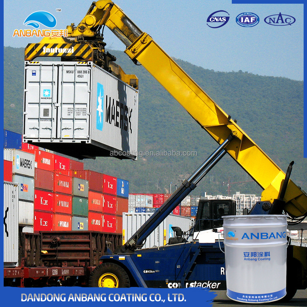 AB380 solvent based epoxy antistatic paint for power and chemical equipment