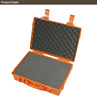 Factory price Plastic Waterproof ABS Electrical tool Case with 456x355x133mm