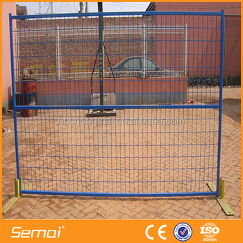 Easy To Install Hot Dipped Galvanized Temporary Metal Fence (Professional Manufacturer)