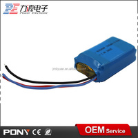high discharge rate rechargeable li-ion battery pack 3.7v 1300mah