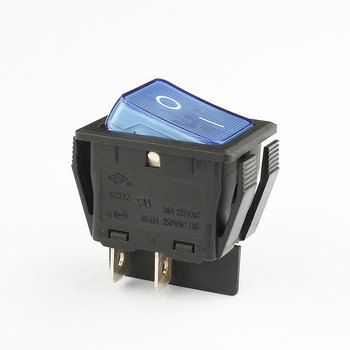 factory price dpst 4 pin on off 16a 250v rocker switch kcd4