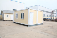 portable galvanized mobile trailer stackable cheap soundproof used office container for sale