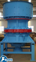 Hydraulic/spring cone crusher process flow diagram