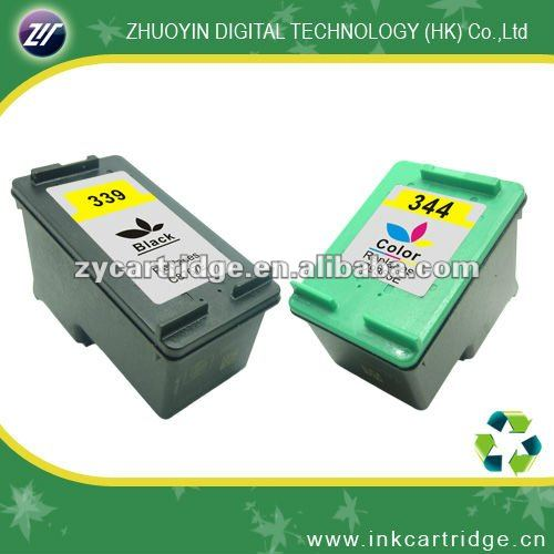 New version remanufactured inkjet cartridge for hp339/344(C8767EE;9363EE)