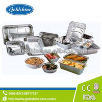 Goldshine Supply Aluminium foil containers for food grade aluminium foil tray for bbq