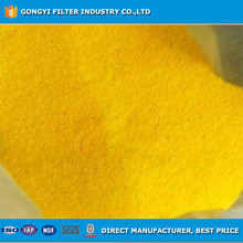 water treatment chemical polyaluminium chloride msds(PAC)