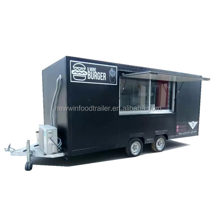 New condition mobile food cart truck with ISO