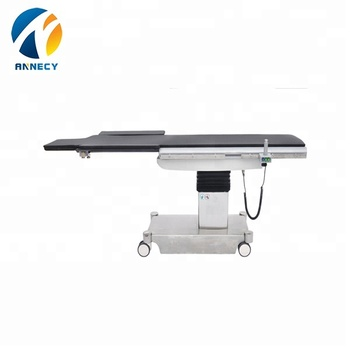 AC-OT003hospital equipments Photography Bed electric radiolucent operating table