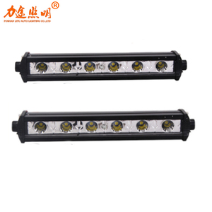 Factory wholesale Super practical 18w led light bar cheap auto offroad led light led grow light bar