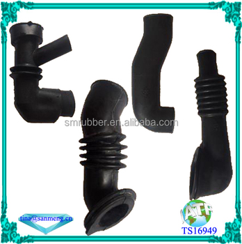 washing machine rubber water drainage pipe rubber outlet hose