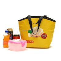customized durable cooler bag with lunch box set