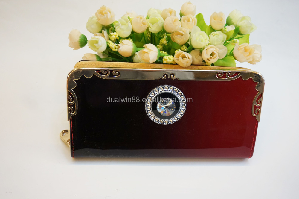 new arrival shinny purse ,cheaper lady wallet made in yiwu