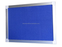 hot selling mdf office soft board for notice board design aluminum frame