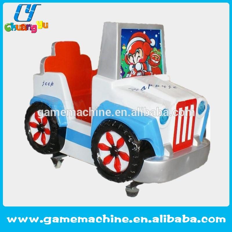 kids video game console Hot sale Happy jeep arcade kid ride car