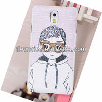 FL3126 2013 Guangzhou high quality glasses boy glasses girl flip leather case cover for samsung galaxy note 3 n9000