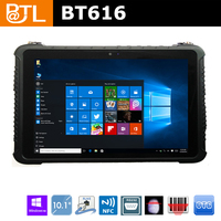 BT616 Dragontrail Glass Touch Panel rugged and powerful tablet PC