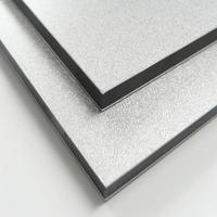 polyester coated aluminum foam panels, 3mm thickness pe coated acp from China, non-combustible aluminium composite panel