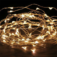 Utra-thin Energy Saving Battery Operated Christmas Decoration Mini Led Firefly Copper String Light