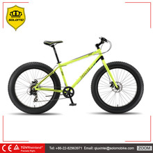 26 Inches OEM Aluminum Alloy Fat Tire Snow Bike