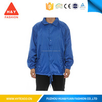 High quality fashion windbreaker jacket fold up jackets ---7 years alibaba experience