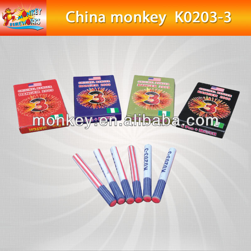 NO.3 3 three bangsThree Sounds Nigeria banger Firecracker& Fireworks for sale (K0203-3)