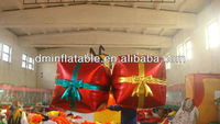2013 Decorative Christmas inflatable gift box for sale