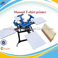 direct t-shirt printing machine&8-color carousel semi-automatic screen printing machine&color t-shirt printing machine
