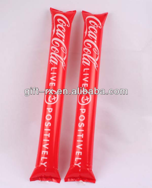 Advertising Item Logo Printed foam cheer stick pom pom stick