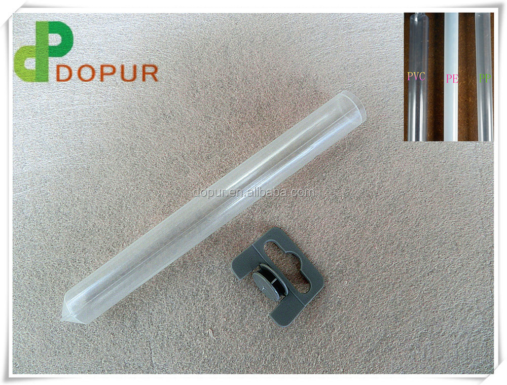 PVC clear cylinder plastic tube