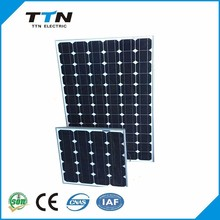 125 x 125 mm Size and Monocrystalline Silicon Material 100wp solar pv module