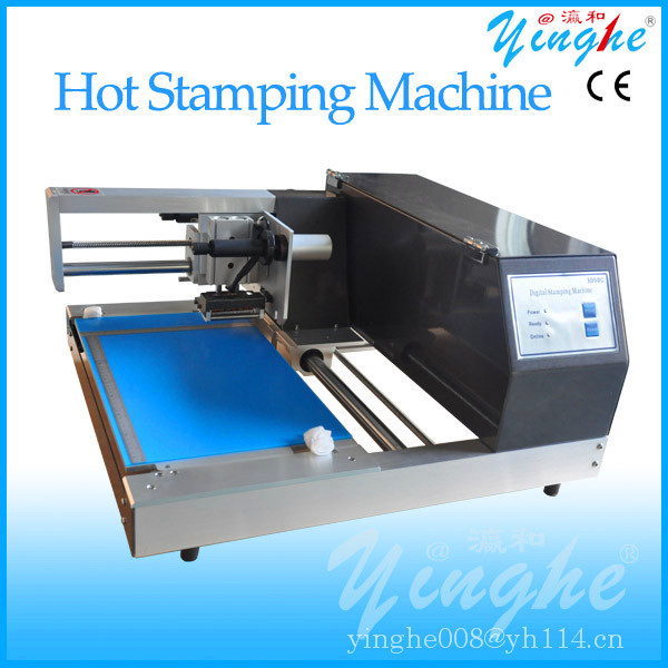 low price hot foil album edge stamping machine