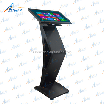 21.5'' android touch screen kiosk display tablet kiosk stand