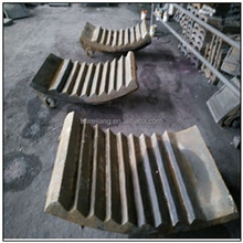 China supplier ISO9001 forged steel cast anvils for coal mill